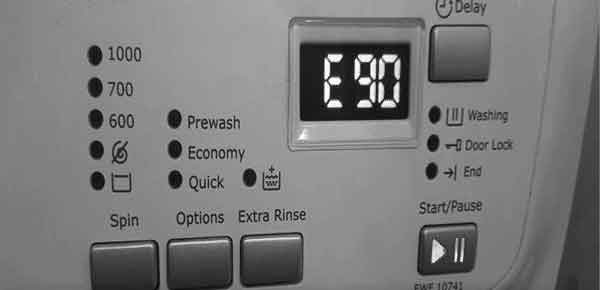 Lỗi e90 máy giặt - sửa lỗi e90 máy giặt   Electrolux