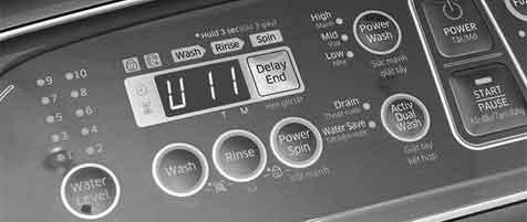 Lỗi u11 máy giặt - Sửa lỗi u11 máy giặt | Panasonic