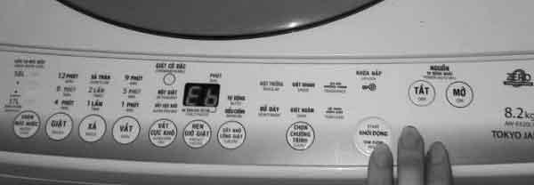 Lỗi E6 máy giặt - Cách sửa lỗi E6 máy giặt | Toshiba